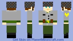 Argentinean Infantryman, The Falklands War, 1982 Minecraft Skin