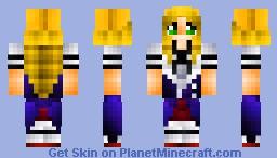 Asia Argento-DXD Minecraft Skin