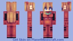 asuka langley 惣流 Minecraft Skin