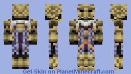 Bonemold Armor ( Morrowind ) Minecraft Skin