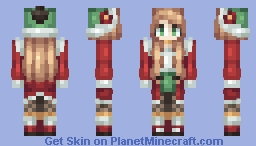 Never enough Christmas // Bootcamp Minecraft Skin