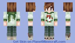 wreath day ~𝑔𝒾𝑜𝓈𝒽𝑒𝑒𝓅 Minecraft Skin