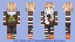 christmas cookies day ~𝑔𝒾𝑜𝓈𝒽𝑒𝑒𝓅 Minecraft Skin