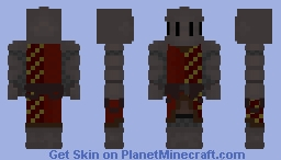 Knight (Dismounted English Knight) Minecraft Skin