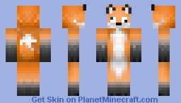 Crazy Fox Skin Minecraft Skin
