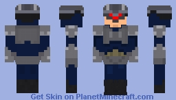 Final Fantasy VIII G-soldier Minecraft Skin