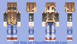 *leaves for 8 years* Minecraft Skin
