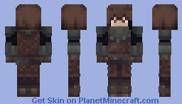 Hooded Viking Minecraft