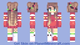 .Hopeful OC Layla. Minecraft Skin