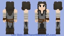 Rey(The Last Jedi) Minecraft Skin