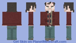 Jack Torrance | The Shining | 1980 Minecraft Skin