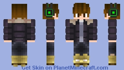 Jeretsty | Winter Minecraft Skin