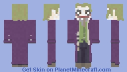 Joker | The Dark Knight | 2008 Minecraft Skin