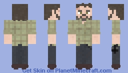 Joel Miller | The Last Of Us Minecraft Skin