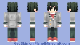 Midoriya Izuku - My Hero Academia (+3 other skins!) Minecraft Skin