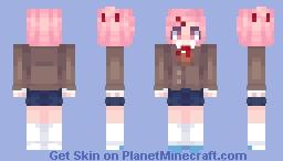Natsuki ~ DDLC Minecraft Skin