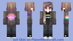 it's strange Minecraft Skin
