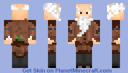 Old Furrier Minecraft Skin