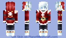 🐬I Have Only One Present For You🐬 [25 Days of Christmas Contest | Day 1 Santa] Minecraft Skin