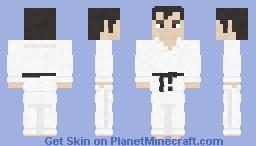 Segata Sanshiro | Sega Saturn Minecraft Skin