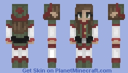 11: Santa's Helper Minecraft Skin