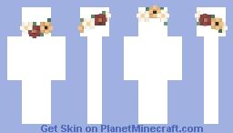 Flower crown base 2 *credit in desc* Minecraft Skin