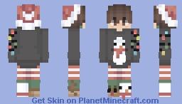 Sweater Weather // Christmas Boy Minecraft Skin