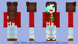 happy holidays Minecraft Skin