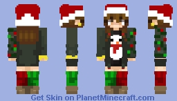 🎄Rockin' Around the Christmas Tree🎄 Minecraft Skin