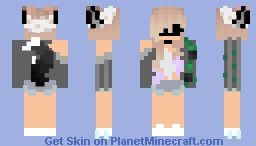 °**i wish u were there...°*' Minecraft Skin