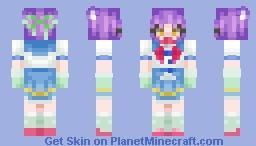 ✨ 𝓢𝓟𝓐𝓡𝓚𝓘𝓔 ✨ Cinnamon (Nekopara) Minecraft Skin