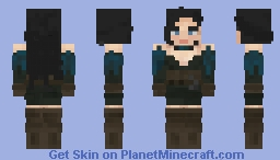 Yennefer Minecraft Skin