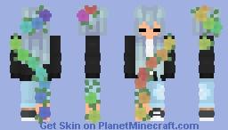 Sleepy~Flowers Minecraft Skin