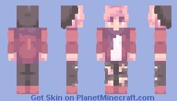 Winters Ember Minecraft Skin