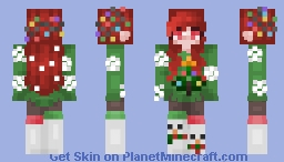 ❄️ᴄʜʀɪsᴛᴍᴀs ᴄᴏʟʟᴀʙ☃ ⁻ᵒᵇˢᶜˣᵘʳᵃ Minecraft Skin