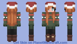 Ellie - Wonderful Christmastime Minecraft Skin