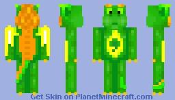 Shamrock dragon (request) Minecraft Skin