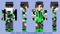 ~cam~ [green hoodie boy] Minecraft Skin