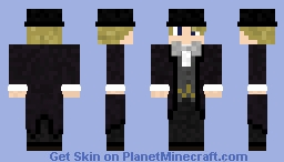 Fancy Top Hat skin Minecraft Skin