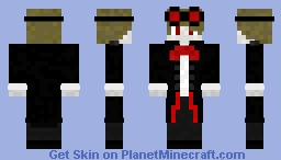 Dracula Halloween Skin Minecraft Skin