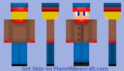 My Cousin Derek as Stan Minecraft Skin