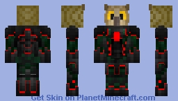 Cyber Bird - Red Minecraft Skin