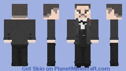Vito Corleone | The Godfather | 1972 Minecraft Skin