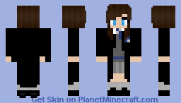 Ravenclaw girl w/ cape (from Harry Potter) Minecraft Skin