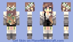 Happy Birthday Mirasuu!! Minecraft Skin