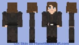 "Anakin Skywalker - ""I do not fear the darkside as you do..."" Minecraft Skin"