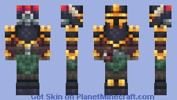 Dust Lord Minecraft Skin