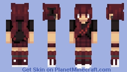 so put your rose colored glasses on // req for AbsoluteNewt25 Minecraft Skin