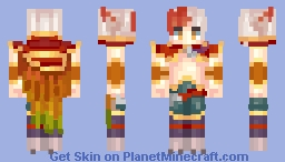 Rakan ~ League of Legends Minecraft Skin