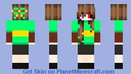 Dangantale Chara Minecraft Skin